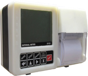 METER WITH PRINTER, GPS, GPRS, BLUETOOTH AND DISPATCH
